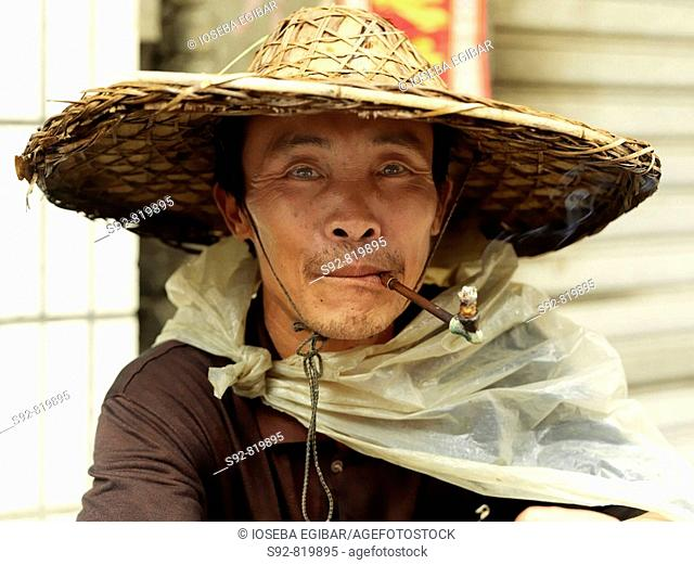 Peasant, Yangtze River basin, China
