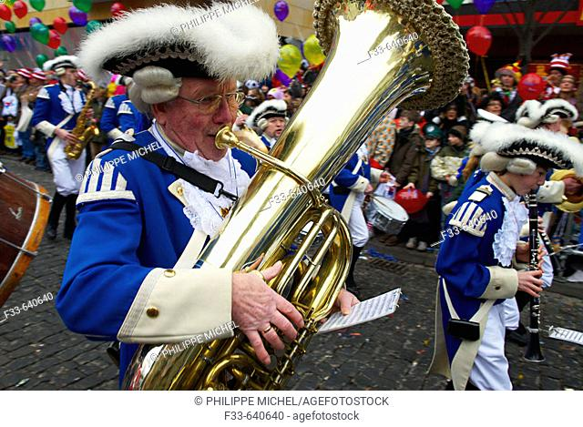 Gemany. Koln. Carnival. Most important carnival in Germany