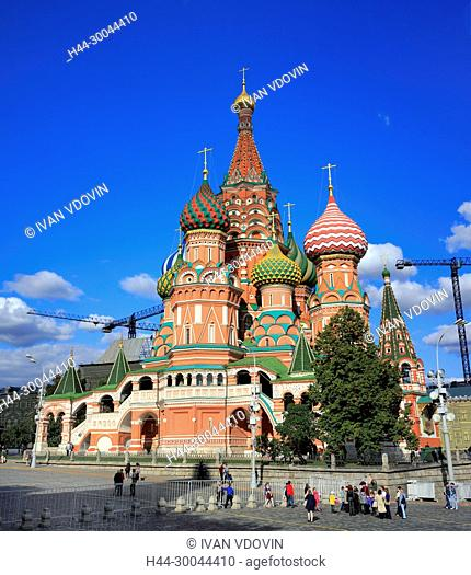 St Basils cathedral (1561), Red square, Moscow, Russia