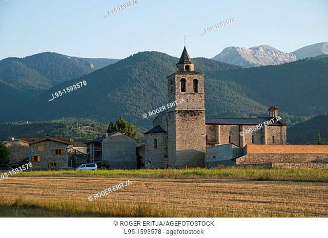 Santa Maria de Talló popularly known as the Cathedral of the Cerdanya valley, although it was never consecrated as such