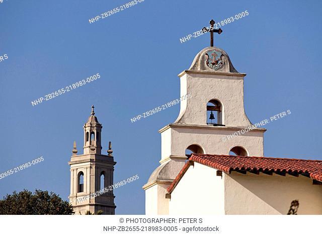Old Mission Santa Barbara, Santa Barbara, California, United States of America, USA