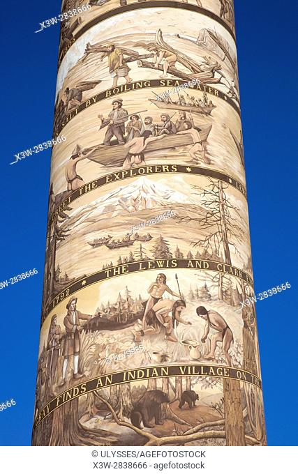 Astoria Column, Astoria, Oregon, USA, America