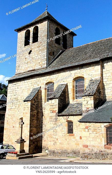 Aveyron, Midi-Pyrénées, church of Muret le Chateau