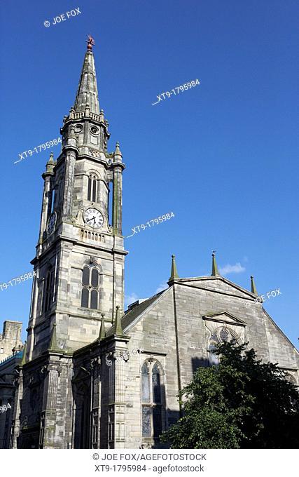 the tron church edinburgh scotland uk united kingdom