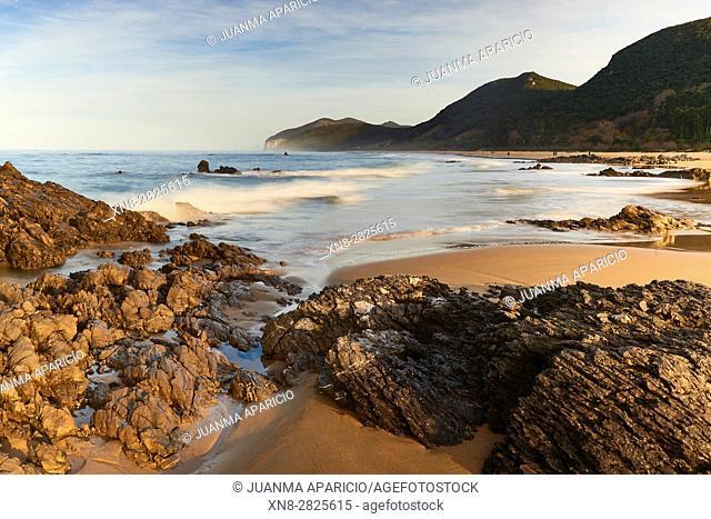 Beach of Helgueras, Noja, Cantabria, Spain
