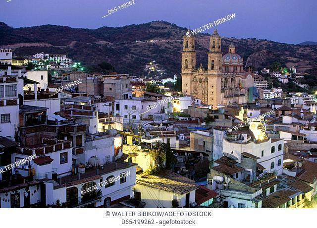 Church of Santa Prisca and town. Taxco. Mexico