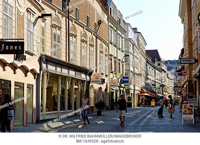 Obere Landstrasse street, Krems, Wachau quarter, Lower Austria, Europe