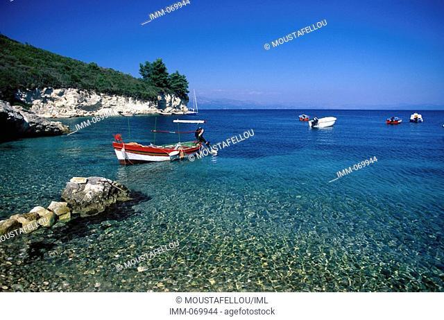 Paxi, Antipaxi: Ionian Paradise, Paxi, Loggos harbor