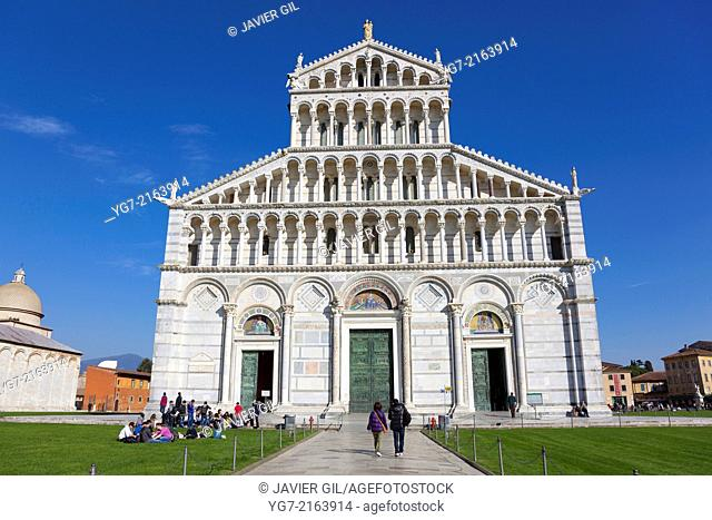 Cathedral, Piazza dei Miracoli, Pisa, Tuscany, Italy
