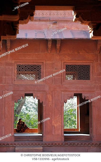 India, Uttar Pradesh, World Heritage Site, Palace of Fatehpur Sikri, The treasury