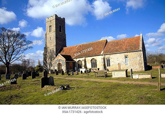 St John the Baptist church, Snape, Suffolk, England