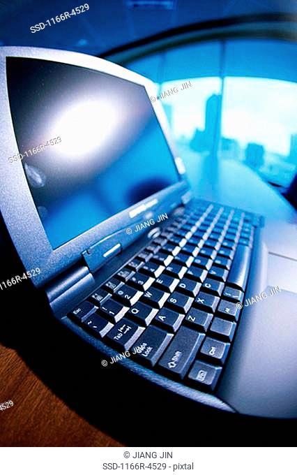 Close-up of a laptop