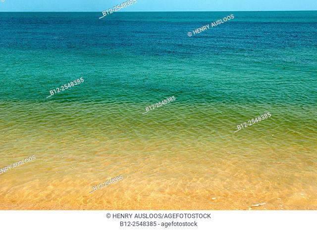 Different colors of the sea, Thailand