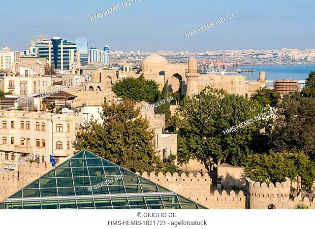 Azerbaijan, Baku, old downtown listed as World Heritage by UNESCO, metro station