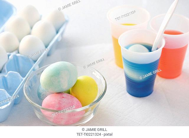 Easter egg coloring tools