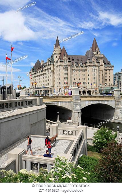 Canada, Ontario, Ottawa, Château Laurier hotel
