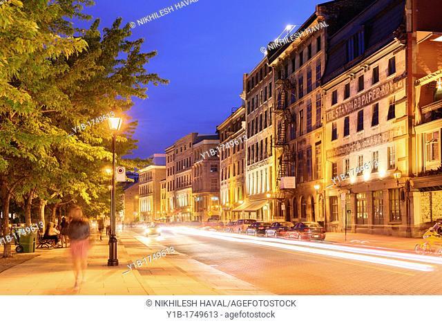 Rue de la Commune, Vieux Montreal