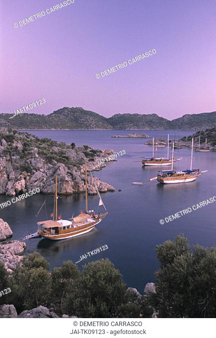 Turquoise Coast between Kale & Kas, Turkey