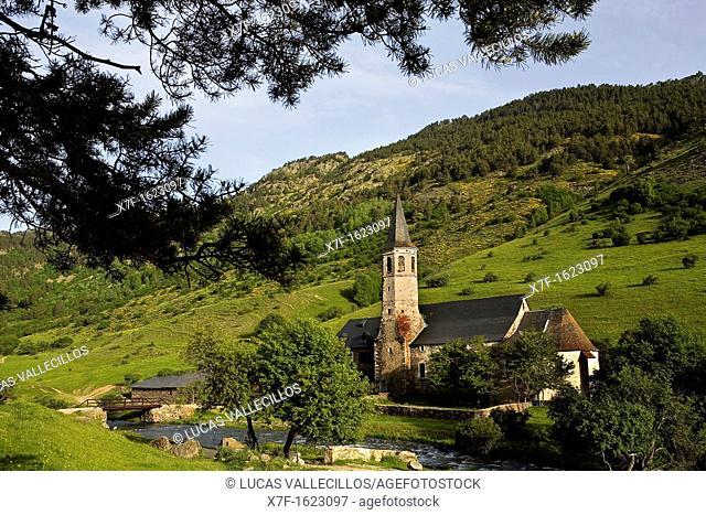 Montgarri Sanctuary,Aran Valley,Pyrenees, Lleida province, Catalonia, Spain