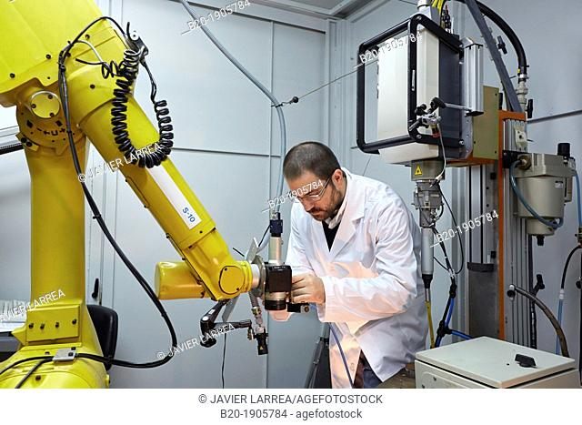 Diode Laser Rofin  Development of robotic system for joining dissimilar materials  Industry, Tecnalia Research & innovation, Technology and Research Centre