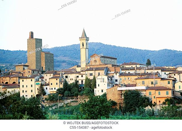 Italy. Tuscany. Vinci, the town where Leonardo da Vinci was born