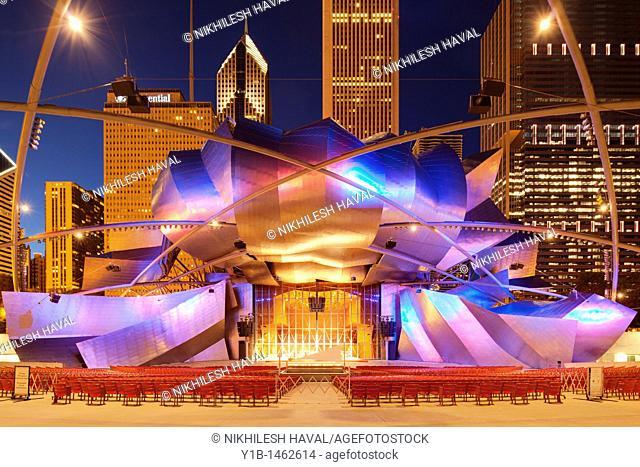 Jay Pritzker Music Pavilion, Chicago, Illinois