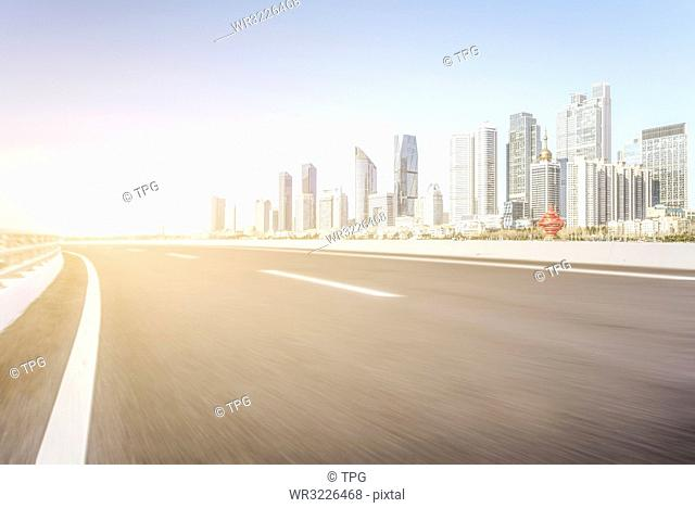 Car free road;China