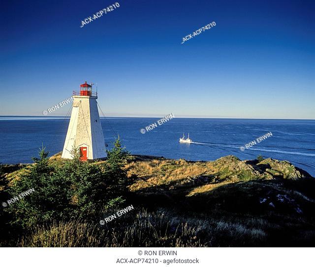 Swallowtail Lightstation, Grand Manan, New Brunswick, Canada