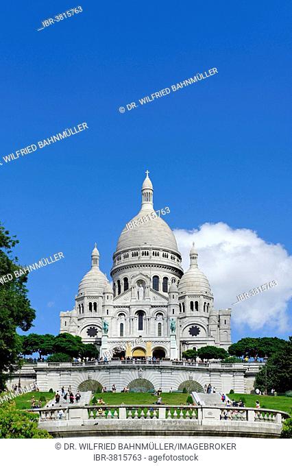 Sacré-Coeur, Montmartre, Paris, France