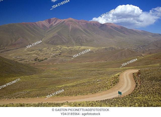 Landscape on the way to Iruya, provincial route 13, Salta, Argentina