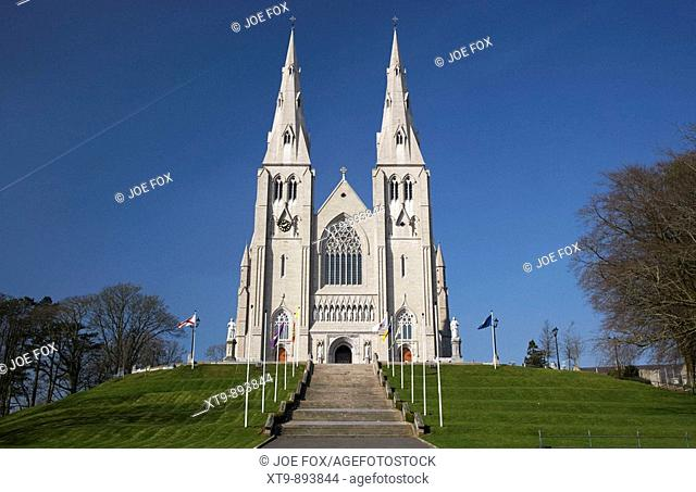 St Patricks Roman Catholic cathedral in Armagh City county armagh northern ireland