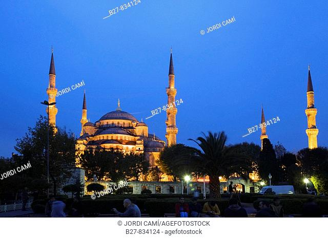 Sultan Ahmed Camii Blue Mosque Istanbul Turkey