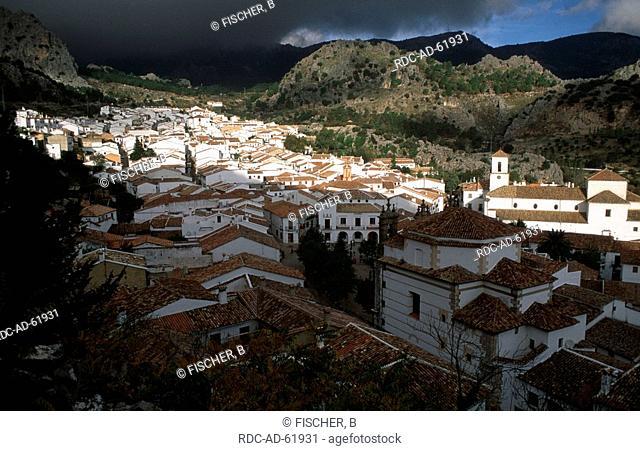 Grazalema in autumn Sierra de Grazalema Andalusia Spain