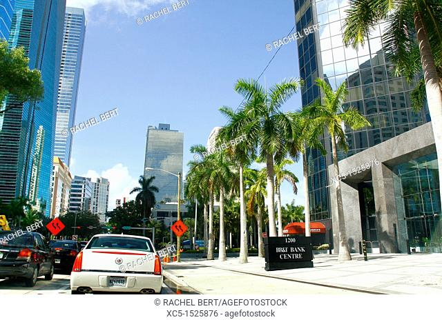 Down Town, Miami, Florida, USA