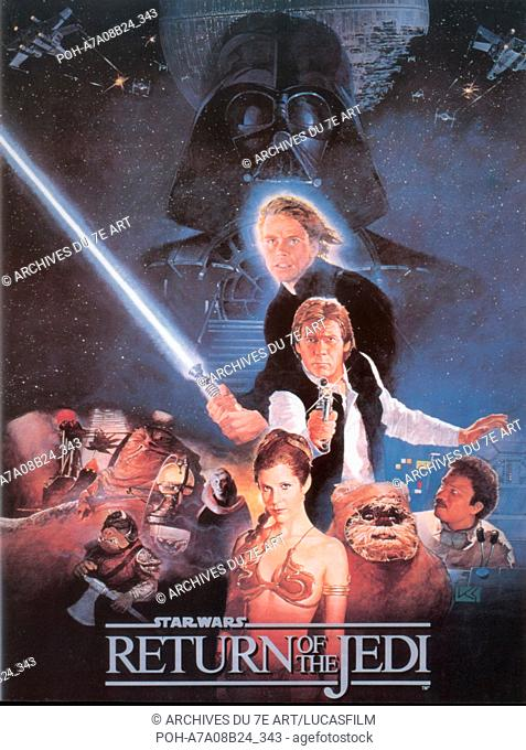 Star Wars: Episode VI - Return of the Jedi  Year : 1983 USA Mark Hamill, Harrison Ford, Carrie Fisher, Billy Dee Williams