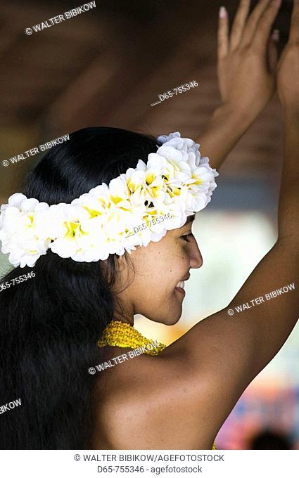 New Caledonia - Amedee Islet -  Amedee Islet Polynesian Hula Dancer