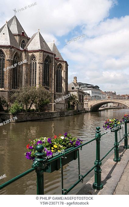 St-Michielskirk or St Michaels Church, Ghent, Belgium