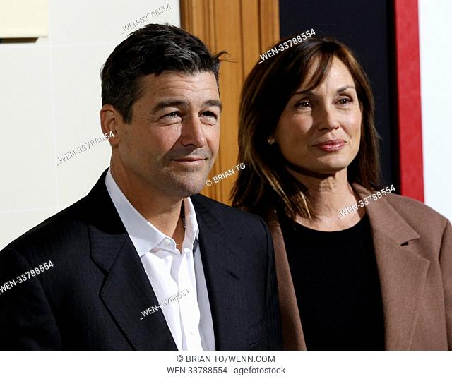 Celebrities attend World Premiere of Game Night at TCL Chinese Theater. Featuring: Kyle Chandler, Kathryn Chandler Where: Los Angeles, California