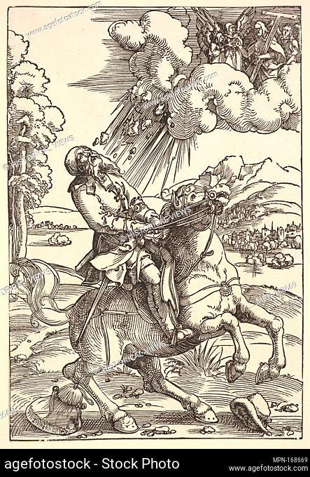 Conversion of Paul. Artist: Hans Baldung (called Hans Baldung Grien) (German, Schwäbisch Gmünd (?) 1484/85-1545 Strasbourg (Strassburg)); Date: ca