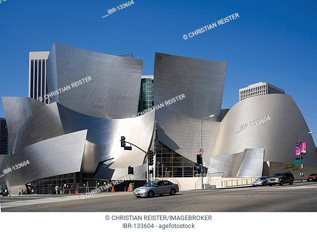 Walt Disney Concert Hall, Bunker Hill, Downtown, Los Angeles, California, USA