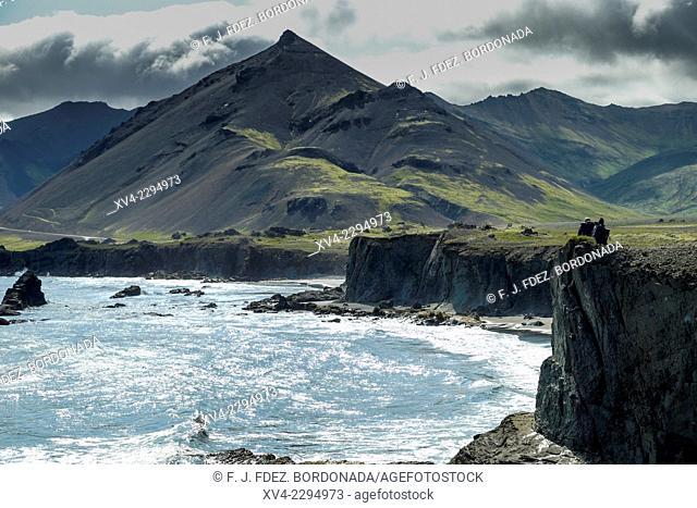 Hvalnes area. Iceland