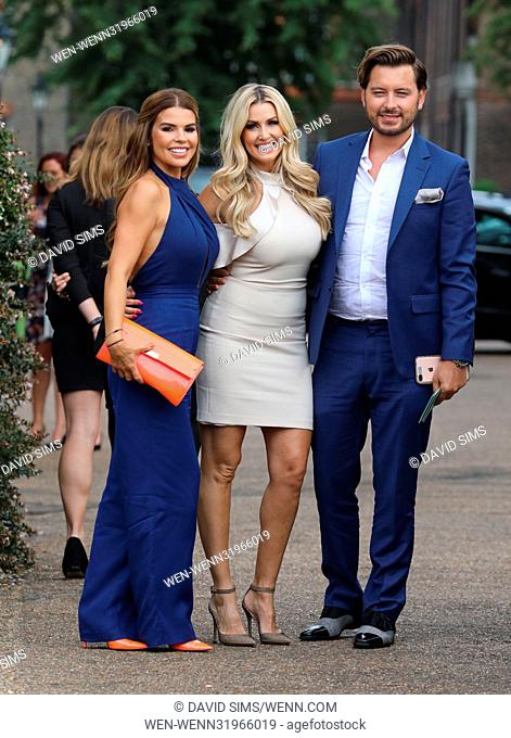 ITV Summer Reception at The Orangery at Kensington Palace - Arrivals Featuring: Brian Dowling, Tanya Bardsley, Leanne Brown Where: London