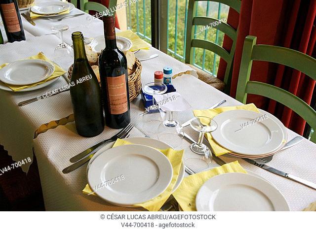 Restaurant Le Saint Yves, Saint Agnes. Cote d'Azur, France