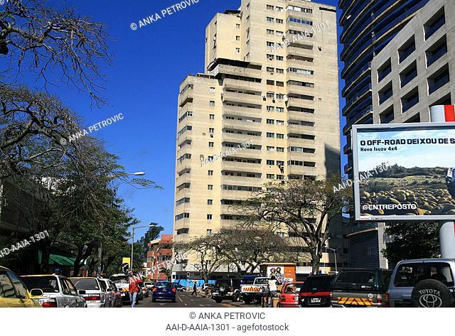 Street scene, Maputo, Mozambique