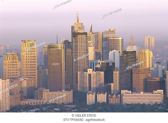 Asia, Buildings, Business, City, District, Holiday, Landmark, Makati, Manila, Modern, Philippines, Asia, Skyline, Skyscrapers, T