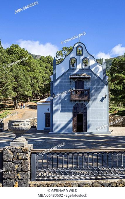 Church Ermita de la Virgen del Pino, El Paso, La Palma, Canary islands, Spain