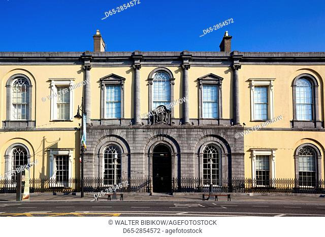 Ireland, County Waterford, Waterford City, City Hall, exterior