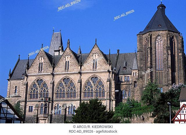 Old University Marburg Hessen Germany Alte Universitat