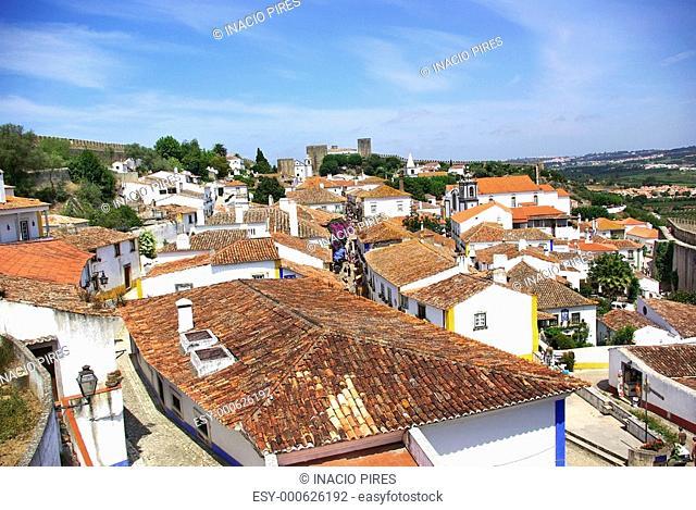 Obidos, old village at Portugal