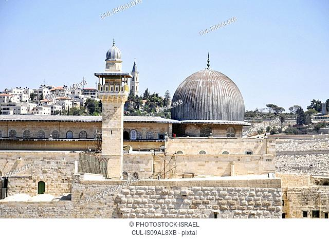 Haram al-Sharif (Temple Mount), Jerusalem, Israel